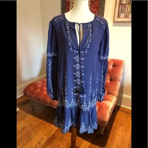 Parker Embroidered Dress NWT